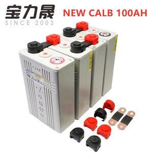 Image 1 - 4 pièces Grade A 2020 nouveau 3.2v100ah Lifepo4 batterie originale CALB cellule en plastique CA100 12V24V pour moto US ue royaume uni sans taxe FEDEX
