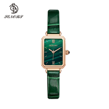 Senors Japan Quartz Movement High Quality Waterproof Ladies watch Dropshipping Women Stainless Steel Mesh Rose Gold cheap Buckle CN(Origin) ALLOY 3Bar Fashion Casual 10mm Rectangle Water Resistant Hardlex SN199 22cm No package Leather 21mm