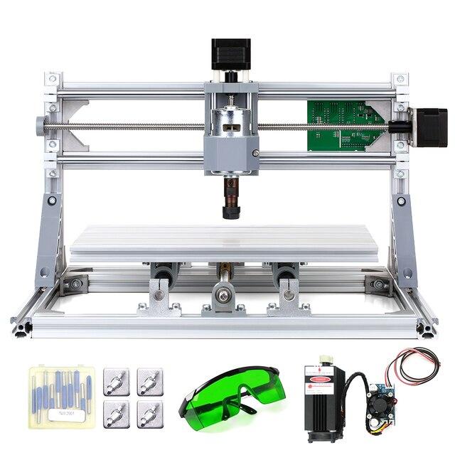 CNC3018 5500mW grawer laserowy DIY zestaw routera CNC 2 in 1 Mini laserowa maszyna grawerująca GRBL sterowania 3 osi rzeźbione w drewnie frezowanie