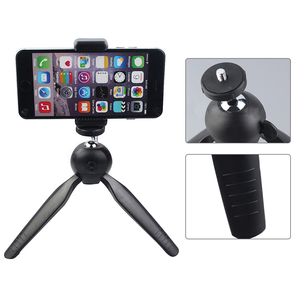 Tripods Tripod For Phone Mobile Camera Holder Clip Smartphone Monopod Tripe Stand Octopus Mini Tripod Phone Adjustable Triangle