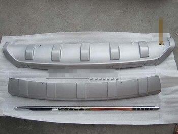 ABS передний и задний бампер протектор противоскользящая пластина крышка подходит для hyundai IX35 2010-2012 автомобильный Стайлинг автомобильные ак...