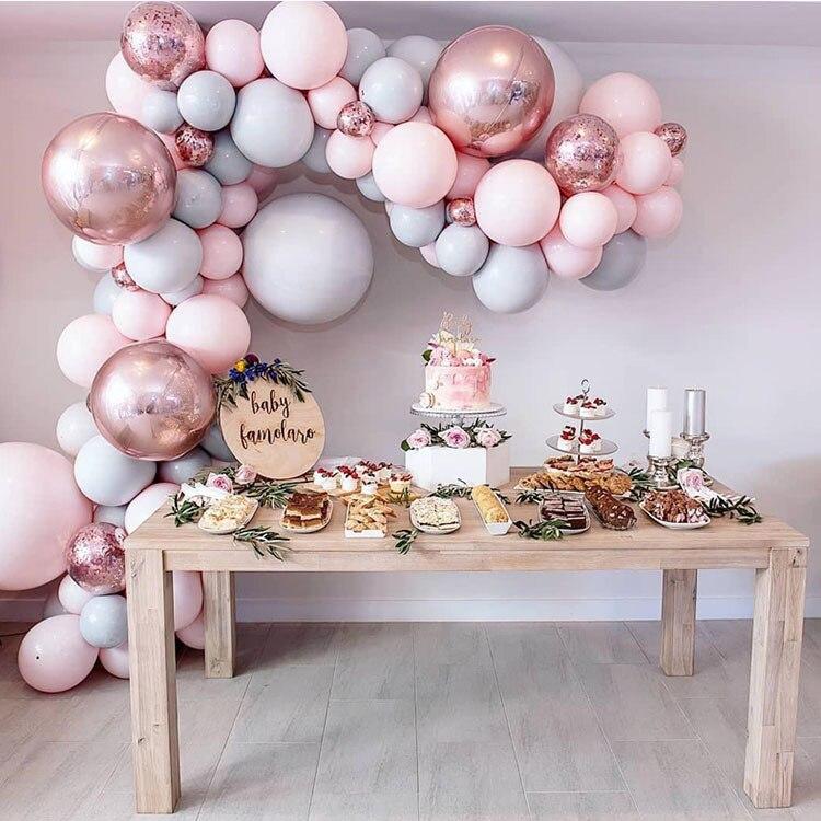 98-pcs-Macaroon-Balloons-Arch-Kit-Pastel-Grey-Pink-Balloons-Garland-Rose-Gold-Confetti-Globos-Wedding