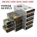 AC85-265V 110V 220V постоянного тока до DC5V 12V 24V 36V 48V 1A 2A 3A 5A 10A 15A 20A 30A 40A 80A CCTV/блок питания светодиодной ленты адаптер