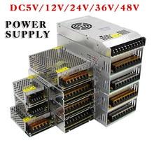 Venda imperdível AC85-265V 110v 220v a dc5v 12v 24v 36v 48v 1a 2a 3a adaptador de fonte de alimentação, 5a 10a 15a 20a 30a 40a 80a cctv/led