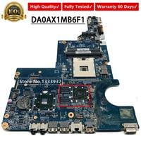 DA0AX1MB6F1 HM55 595183-001 HP CQ42 G62 G42 G72 CQ62 노트북 마더 보드
