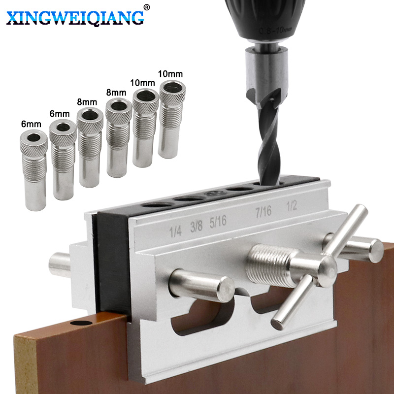Board Connection Drilling Positioner DIY Drilling Positioner Woodworking Tools