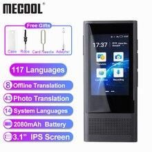 "Mecool W1 3,0 AI traductor de fotos de voz 3,1 ""IPS 4G WIFI 8GB memoria 2080mAh 117 idiomas portátil OTG Translatio fuera de línea"
