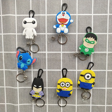 15Pcs/Lot Retractable Key Chain Cartoon Nursing Card Holder, Card Holder Badge Holder Badge Reel 2020 New Retractable Badge Clip