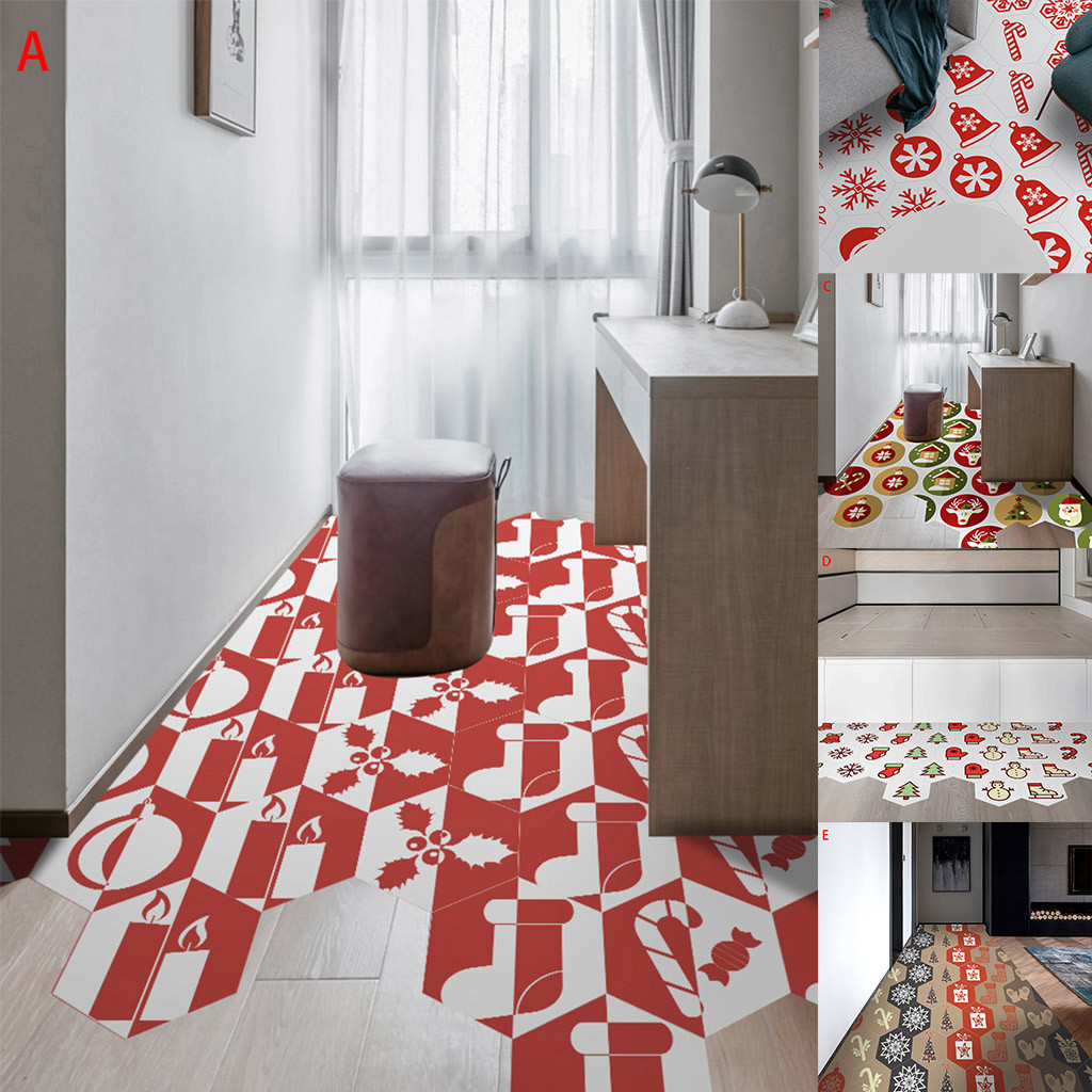 home dcor interior decoration.htm bzoosio wall sticker room christmas hexagonal anti slip stickers  bzoosio wall sticker room christmas