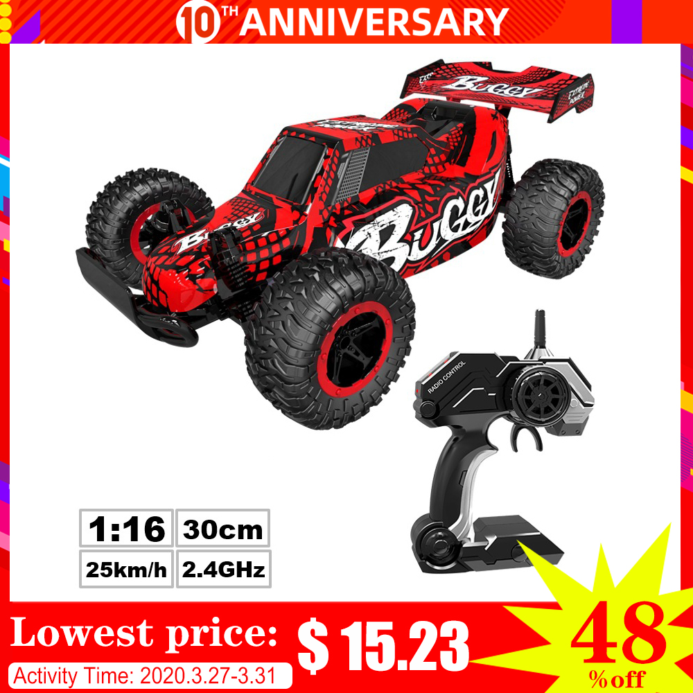 Rc Car 1:16 Off-road Climbing Car Radio Rc Car 25km / H Upgraded Version Of Two People Do Not Interfere With Rc Car Toy 2020 Toy