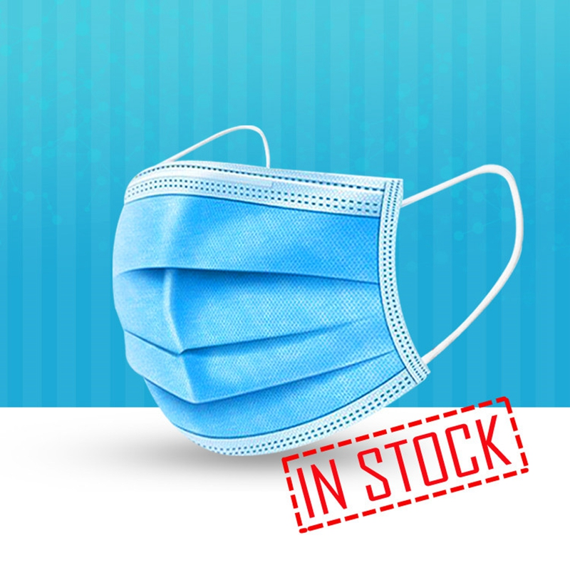Face Mask Disposable 50PCS 3 Layer Mouth Mask Protection Masks Mascarilla Facial Anti Dust Maska Anti Pollution Maske Maseczka