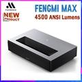 Fengmi Cinema 4K MAX проектор 4500 ANSI Lumens лазерный проектор для домашнего кинотеатра ультра короткая проекция ТВ телепроектор 2020 Новинка