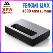 Fengmi cinema 4k max projetor 4500 ansi lumens projetor a laser de cinema em casa ultra curta projeção tv тtv 2020 о о novo