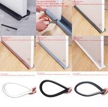 1pc Flexible Door Bottom Sealing Strip Sound Proof Noise Reduction Under Door Draft Stopper Dust Proof Window Weather Strip