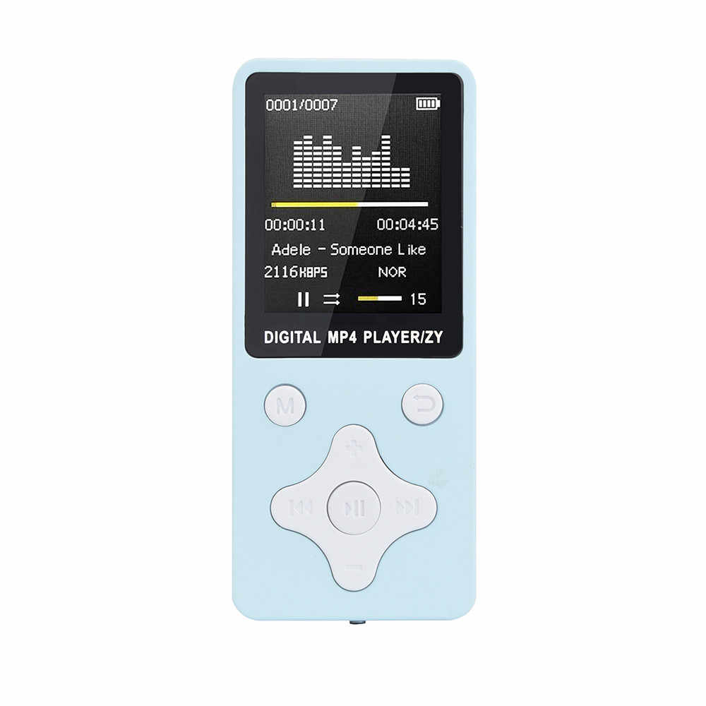 35 @ 2019 mode Tragbare Mp4 Verlustfreie Sound Musik-Player Fm Recorder Walkman Mini Unterstützung Musik, Radio, aufnahme, Video