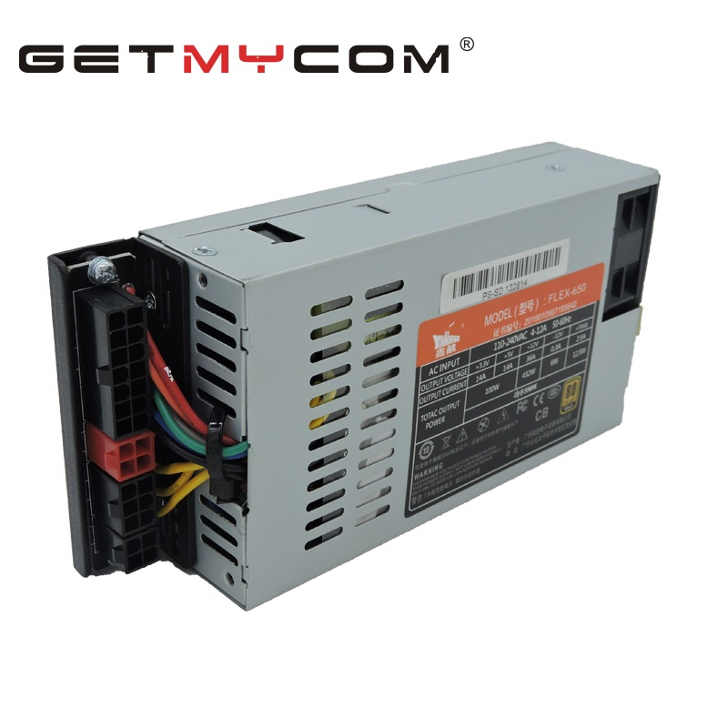 Оригинальный новый блок питания Getmycom ATX 12 в S3 K39 K35 M41 M24 для SpeedCruiser, поддержка GPU FLEX NAS Small 1U, номинальная мощность 500 Вт, пиковая мощность 600 Вт