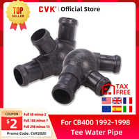 CVK tanque de agua refrigeración radiador bomba tubo de agua conector t para Honda CB400 VTEC CB400 1992-1998 accesorios de motocicleta