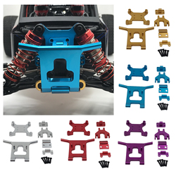 Front Guard Bumper Shock Tower for Wltoys 124018 1/12 Scale RC Car Upgrade Parts