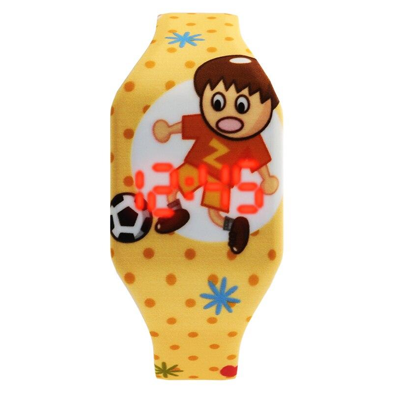 Image 5 - Cartoon Childrens Watches Cute LED Digital Watch Kids Student Electronic Watch Dinosaur Clock For Girls Boys Reloj InfantilChildrens Watches   -