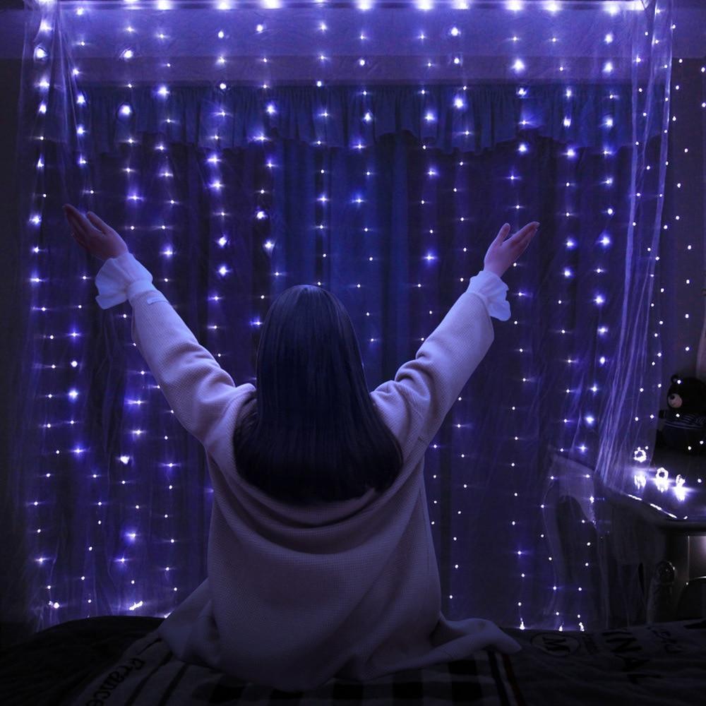 Decorațiuni de Crăciun pentru casă 3m 100/200/300 bliț cu LED - Produse pentru sărbători și petreceri - Fotografie 6