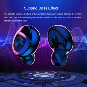Image 5 - XG12 Bluetooth5.0 Headset TWS Binaural Stereo Earphones Wireless sSports Mobile Phone Universal