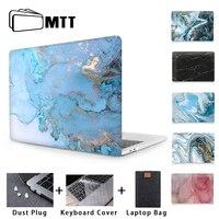Mtt Marmer Hard Case Voor Macbook Pro 1.3 16 Inch 2019 Cover Voor Macbook Air Pro Retina 11 12 13 15 Met Touch Bar Laptop Sleeve