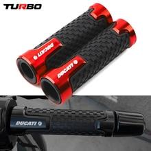 "For Ducati MONSTER 695 696 796 620 400 600/M600 Monster620/M620 7/8 ""Motorcycle Handlebar Grip handle bar Motorbike grips End"
