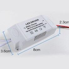 Transformador electrónico de Controlador LED, fuente de potencia inteligente para luces LED, DIY, Panel Controlador de lámpara 12-24W/24-36W/36-50W DC 12V