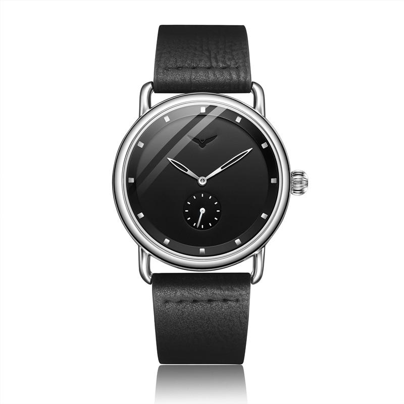 Casual watch men brand ONOLA quartz wristwatch simple waterpoor leather man watch Luxury watches 14