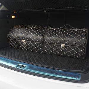 Trunk Organizer Storage-Bag Car-Accessories Tiguan Smart 453 Color-Black-Gold