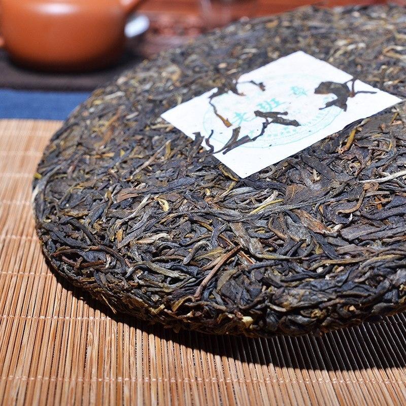 Made in 2008 Raw Yunnan Puerh Tea 357g Prevent Arteriosclerosis 2