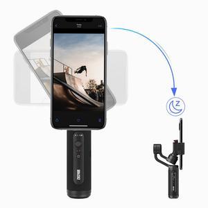 Image 3 - ZHIYUN SMOOTH Q2 Ufficiale LISCIA  Telefono Giunto Cardanico 3 Axis Pocket Size Palmare Stabilizzatore per Smartphone iPhone Samsung HUAWEI Xiaomi vlog