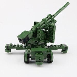 Image 2 - NEW WW2 Military German Army Soldier Figures Blocks Toys Typ 82 Kubelwagen Weapons Accessories Blocks Bricks Toys for Children
