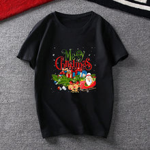 Женские футболки 90s стиль милый Санта Клаус с рождественским
