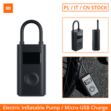 Xiaomi Inflatable Treasure Portable Electric Tire Inflator 150psi Pression With LED Light Smart Digital Tire Pressure Detection