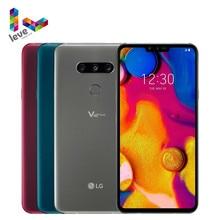 هاتف LG V40 ThinQ V409N V409UA V405EBW غير مقفول هاتف محمول 6.4