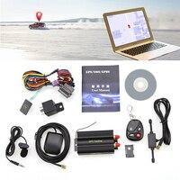 TK103B Gps Tracker SMS/GPRS/GSM GPS vehículo Tracker localizador con Control remoto Anti-robo de sistema de alarma para coche SIM900B