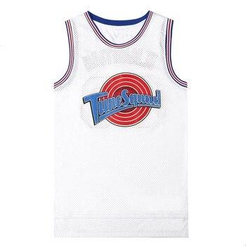 ムービーコスプレ衣装スペースジャム #23 jd #1 バグ #10 ローラ #22 マレーバニーバスケットボールユニフォームステッチ番号