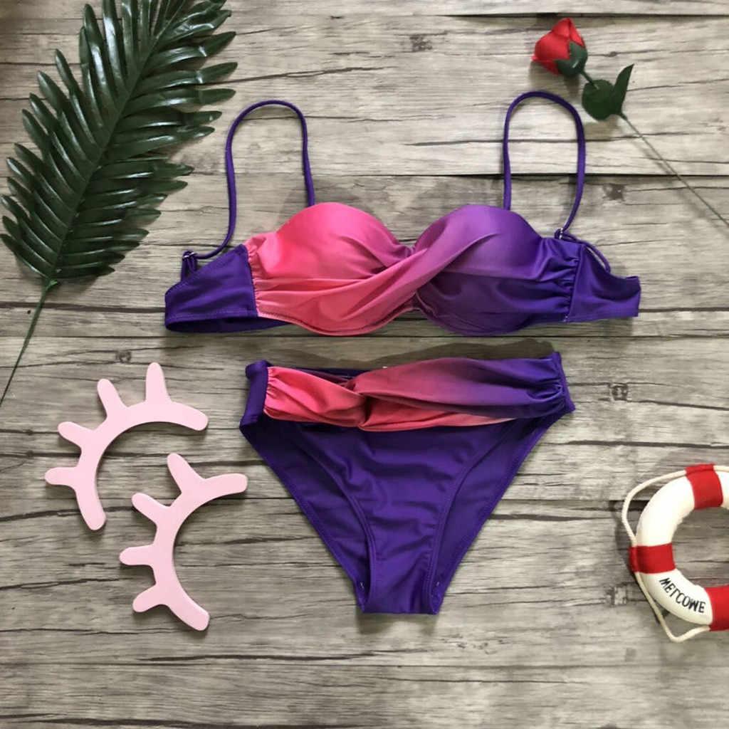 水着女性ビキニビーチウェア高腰セクシーな黒ワンショルダーツーピースプッシュアップ水着女性スポーツ女性水着