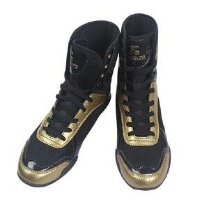 Zapatos de lucha para hombre, zapatillas ligeras de boxeo, artes marciales, Taekwondo, Sanda, de entrenamiento, lucha, de talla grande 36-47