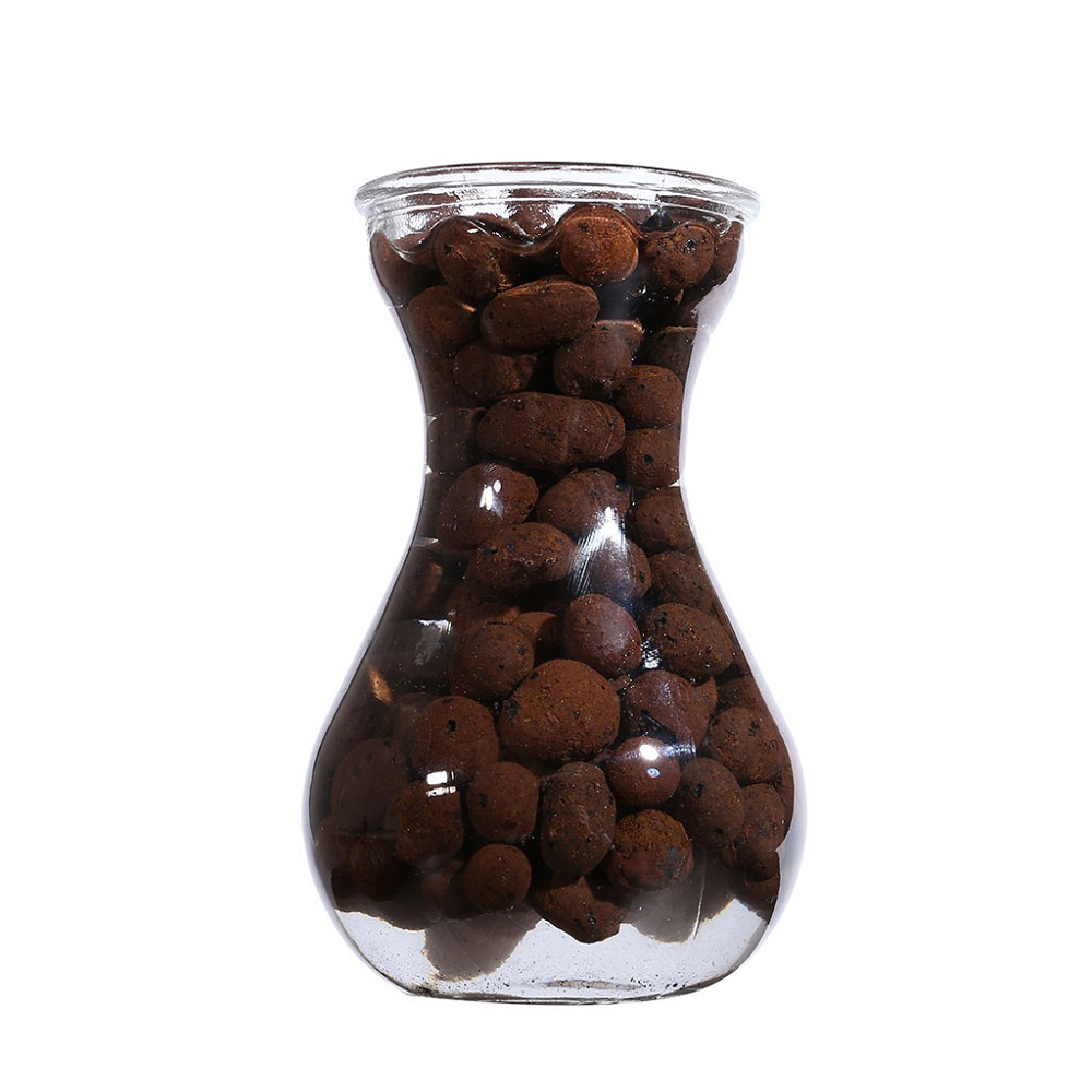 Ceramic Hydroponic Soil Negative Ion Ceramic Carbon Ball Nutrient Organic Expanded Clay Pebbles Plant Aquaculture image