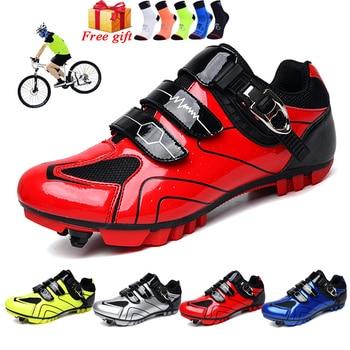 2020 sapatos de ciclismo sapilha mtb men tênis mulher sapatos de bicicleta de montanha auto-bloqueio superstar sapatos de bicicleta originais 1