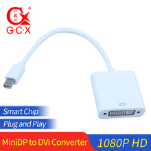 Mini DP to DVI Dual Link Cable Adapter Thunderbolt Mini DisplayPort Display Port to DVI Converter Adaptor For Apple Mac Pro Air wholesale 3 in 1 thunderbolt mini display port dp to hdmi vga dvi adapter cable for mac book u0314