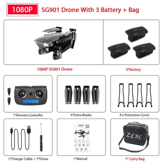 SG901 1080P 3B Bag