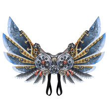 Yooap Halloween Decoration Carnival Dress Up Adult Childrens Mechanical Wings party decoration