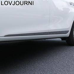 Nadwozia drzwi zewnętrzne Automovil Chromium pokrowce samochodowe ozdobny element akcesoriów taśma naklejana 14 15 16 17 18 19 dla Toyota Corolla w Chromowane wykończenia od Samochody i motocykle na