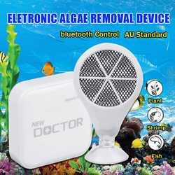 Bluetooth Chihiro Doctor AU Plug akwarium oczyszczacz alg Twinstar styl elektroniczny sterylizator dla roślin ryby karłowate do akwarium w Przybory do czyszczenia od Dom i ogród na