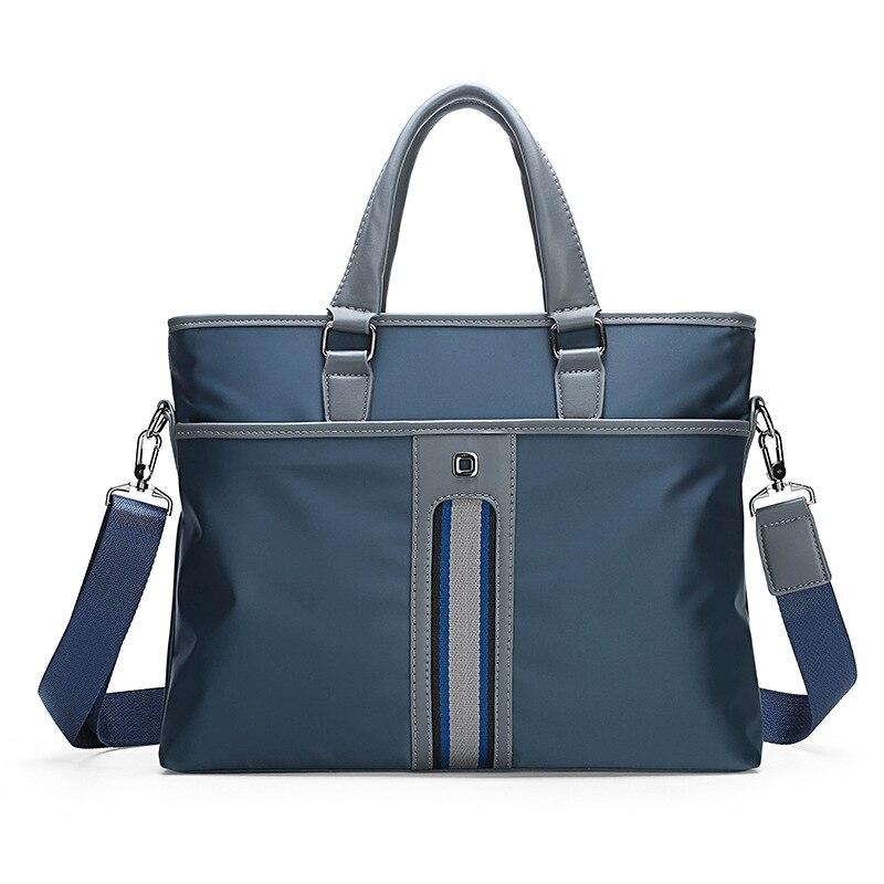 Men Messenger Bag Waterproof Oxford Top-handle Computer Bags Casual Handbags Male Briefcase Bag 2019 Men's Shoulder Bags LSH707