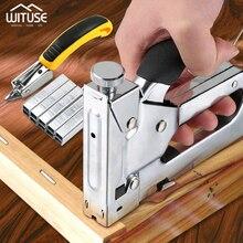 Multitool Nail Staple Stapler Gun Furniture For Wood Door Rivet Tool Fixing Tools Upholstery Framing Rivet Gun Kit Staple Nailer