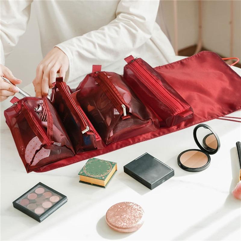 Trousse maquillage dépliante